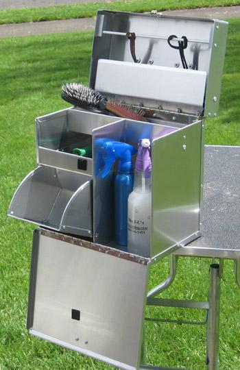 Dog Grooming Tack Box Aluminum Ringside Dog Show Tack Box
