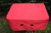 Brushed cotton grooming table cover with a padded top to provide comfort to your dog while waiting for your turn in the ring. Pockets provide storage space ... & Mighty Mite Dog Gear - Dog Grooming Table Covers