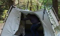 Black Pine Turbo Tents Instant Pop Up Tents