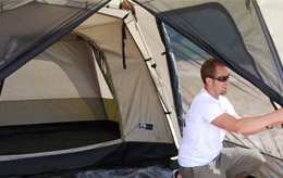 Fabric 150D Ripstop Polyester PU 2000mm & Black Pine Turbo Tents u2013 Instant Pop Up Tents