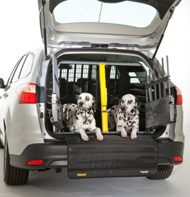 Dog Kennel Rstraint System For Cars