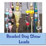 Beaded Dog Show Leads