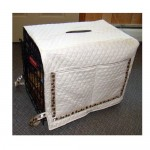 Custom Wire Crate Covers/ Custom Dog Crate Cover
