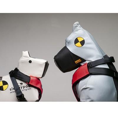 "Sleepypod Clickit Dog Safety Harness – ""Three Point"" Seatbelt"