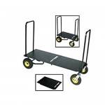 Expandable Solid Deck for Mulit-Carts