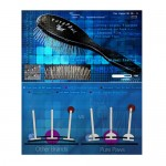 Pure Paws 27 MM Pin Brush for Show Coat Grooming