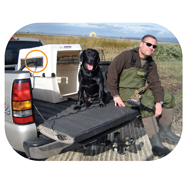 Dog Vehicle Crate Cooling System Coolk9 Dog Crate