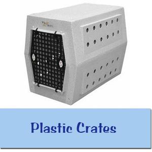 Plastic Dog Crates