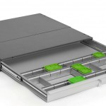 Variodrawer with compartments