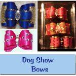 Dog Show Bows