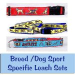 Dog Breed Leash Sets