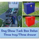 Aluminum Dog Grooming Tack Boxes