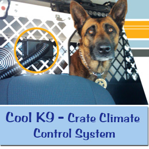 Cool K9 Crate Climate Control System