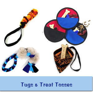 Tugs & Treat Tosses