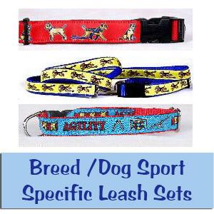 Dog Breed Leash Sets