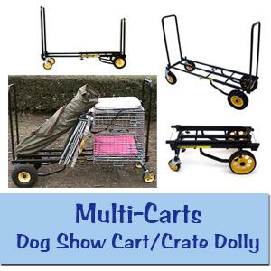 Dog Crate Dollies /Dog Show Carts