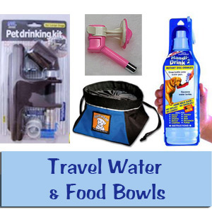 Travel Water & Food Bowls