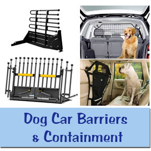 Dog Car Barriers & Containment