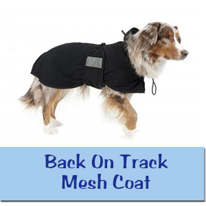 Back On Track Mesh Coat