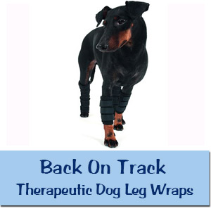 Back On Track Therapeutic Dog Leg Wraps